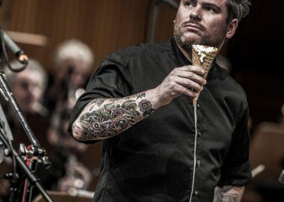 Daniel Gottschlich cook-performer, © 2019 Ras Rotter