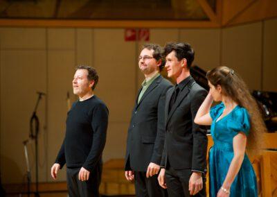 Übürall - Brad Lubman & Vito Žuraj & Alexander Stockinger & Hélène Fauchere ©2013 Tibor Pluto