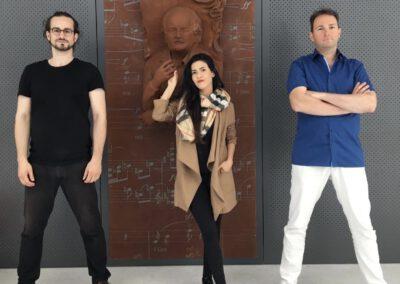 Gašper Livk & Johanna Vargas & Vito Žuraj ©2020 Vito Žuraj